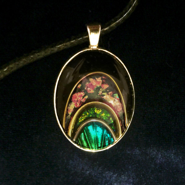 Breaking Dawn Glow-in-the-Dark Pendant by Tara Riley